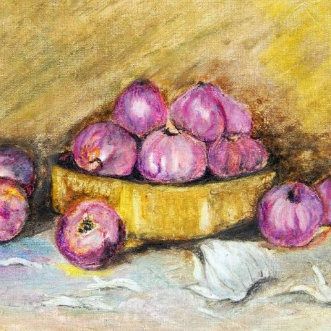 Onions in oils