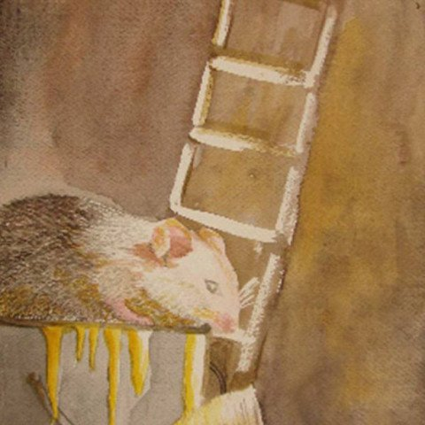 Mouse in Watercolour