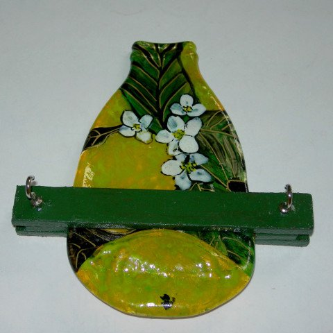 Fused Glass Decorative Wall Rack
