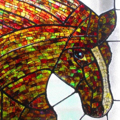 'Horse'  Inspiration Byzantine