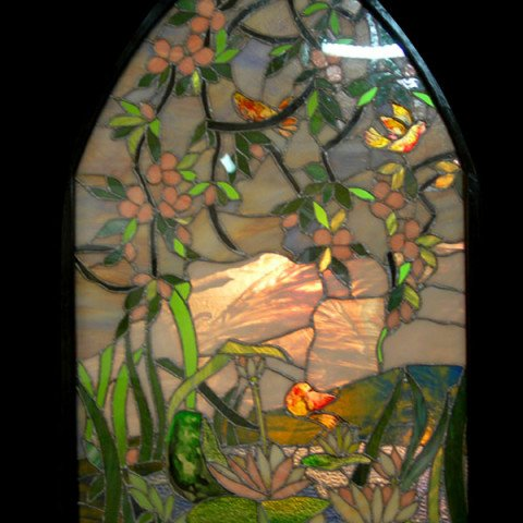 Stained Glass Arch Panel 2