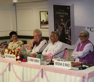 003_IDEAL Director, Asha Mandapa as a panellist at the launch of Charlotte's End in Delhi